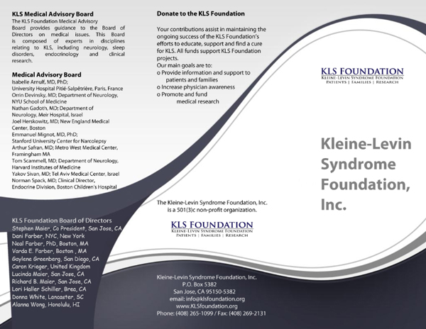 KLS Foundation Leaflet 2014