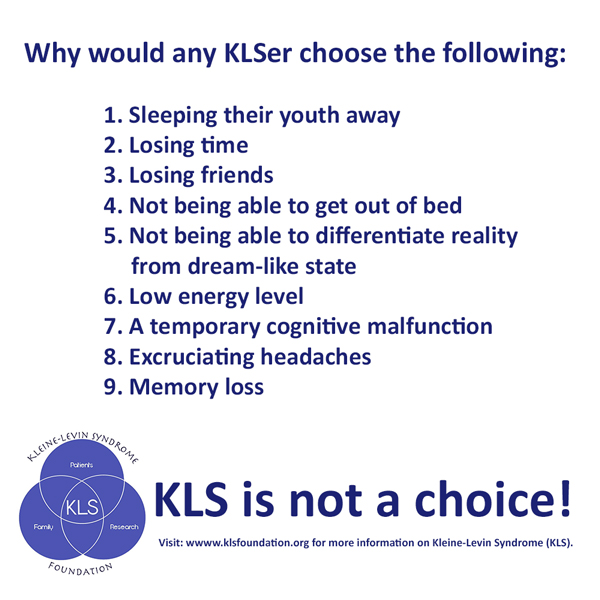 KLS Foundation in America shared this message on facebook....