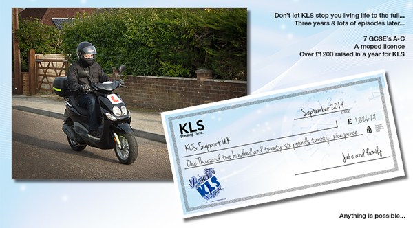 Driving and Fundraising with KLS